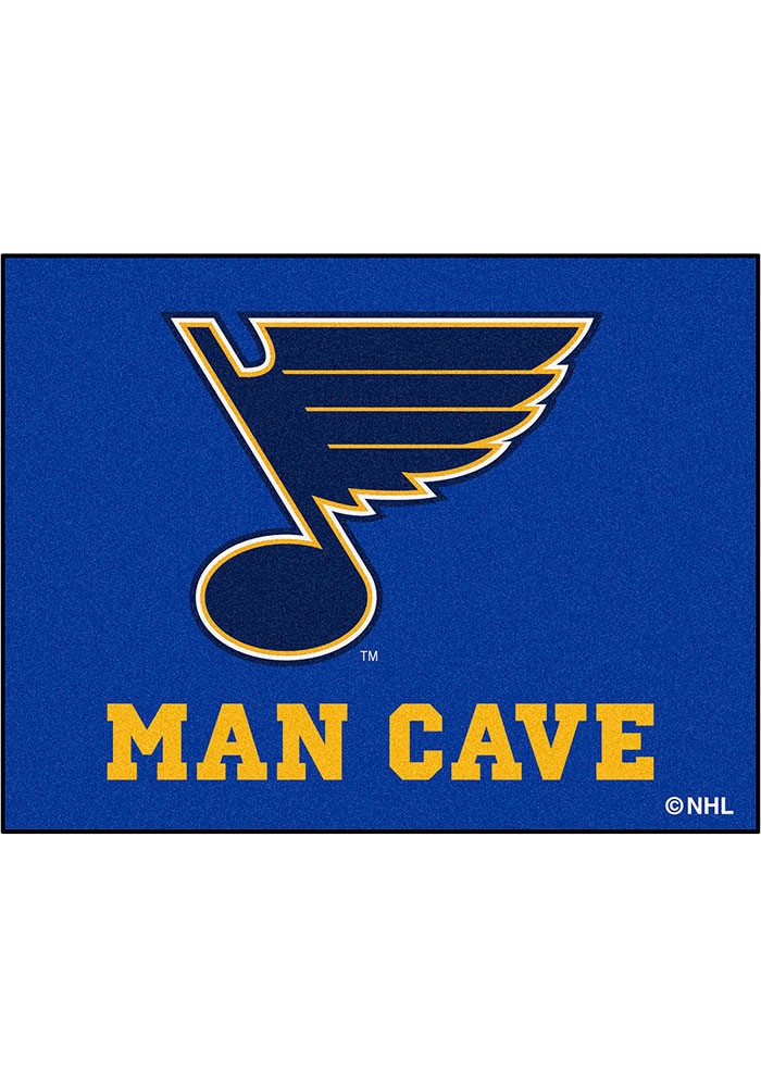 St. Louis Blues 34x45 All Star Interior Rug - Image 1