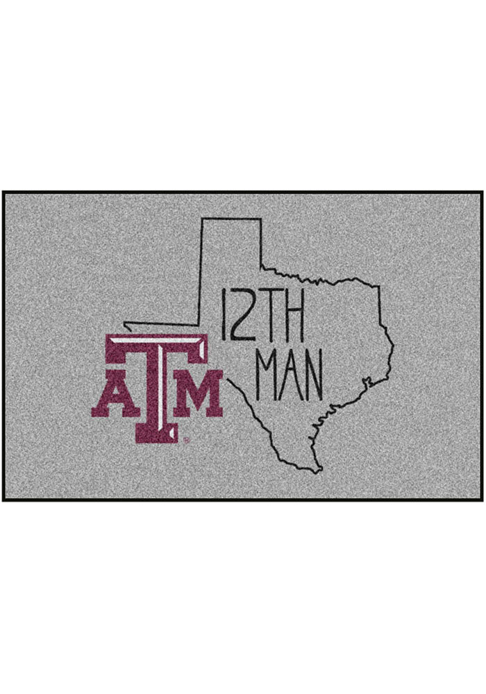 Texas A&M Aggies Southern Style 19x30 Starter Interior Rug - Image 1