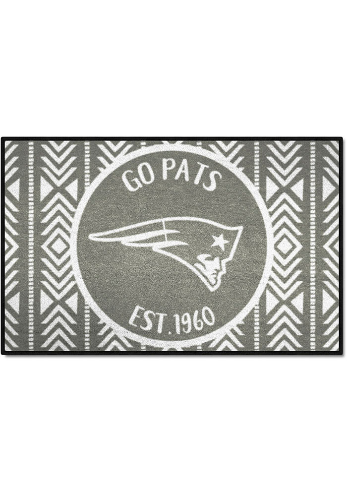 New England Patriots Southern Style 19x30 Starter Interior Rug - Image 1