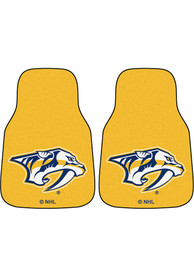 Sports Licensing Solutions Nashville Predators 2pc Car Mat Car Mat - Yellow