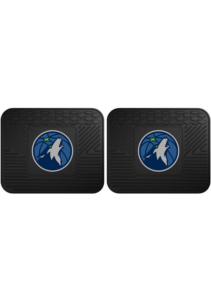 Minnesota Timberwolves Backseat Utility Mats Car Mat - Image 1