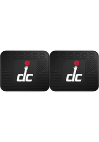 Sports Licensing Solutions Washington Wizards Backseat Utility Mats Car Mat - Black