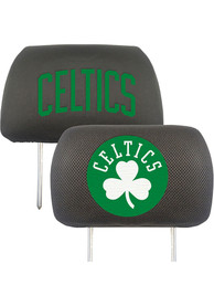 Sports Licensing Solutions Boston Celtics 10x13 Head Rest Auto Head Rest Cover - Black