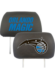 Sports Licensing Solutions Orlando Magic 10x13 Head Rest Auto Head Rest Cover - Black