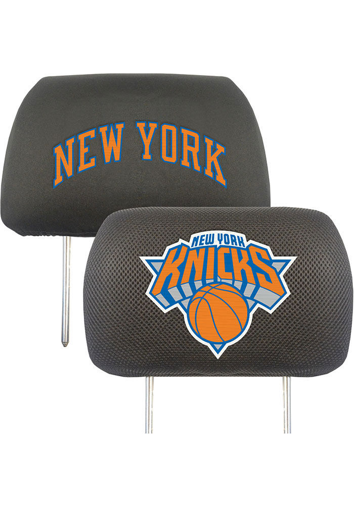 New York Knicks 10x13 Head Rest Auto Head Rest Cover - Image 1