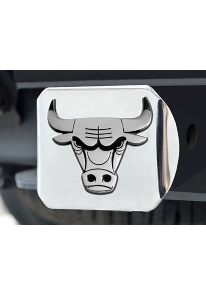 Chicago Bulls Hitch Cover Car Accessory Hitch Cover - Image 1
