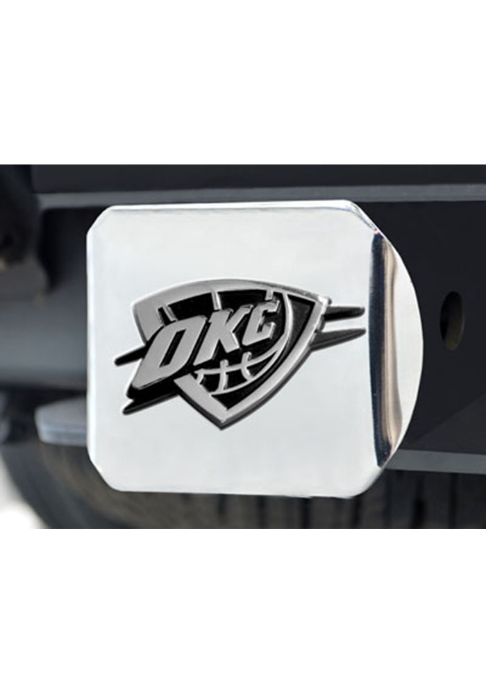 Oklahoma City Thunder Hitch Cover Car Accessory Hitch Cover - Image 1