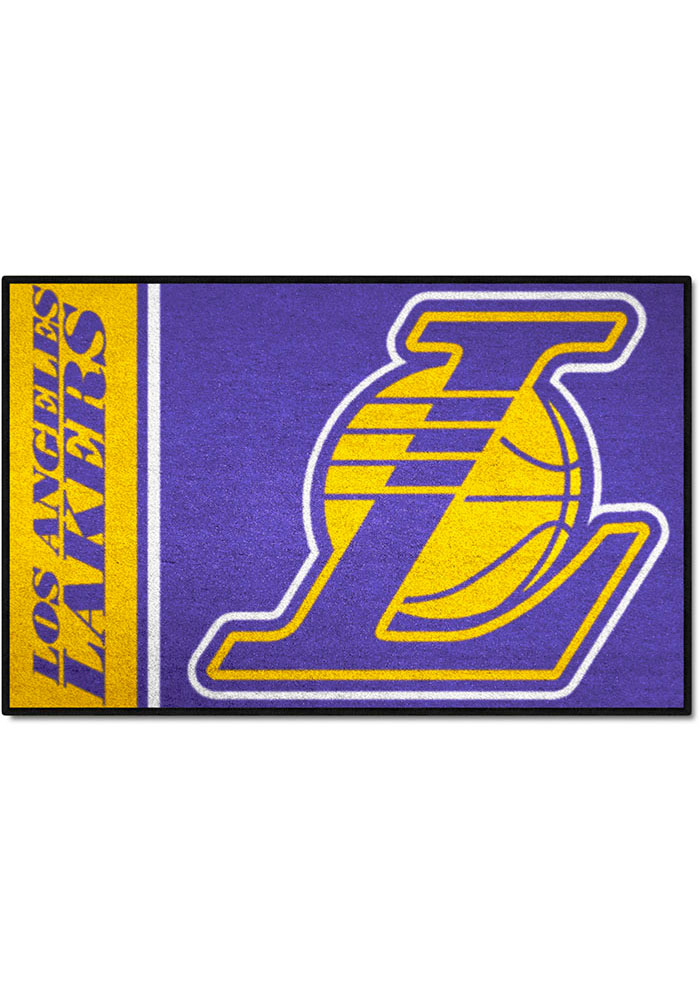 Los Angeles Lakers 19x30 Starter Interior Rug - Image 1