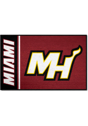 Miami Heat 19x30 Starter Interior Rug