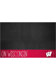 Wisconsin Badgers Southern Style 26x42 BBQ Grill Mat
