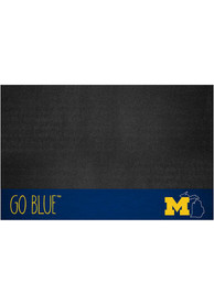 Michigan Wolverines Southern Style 26x42 BBQ Grill Mat