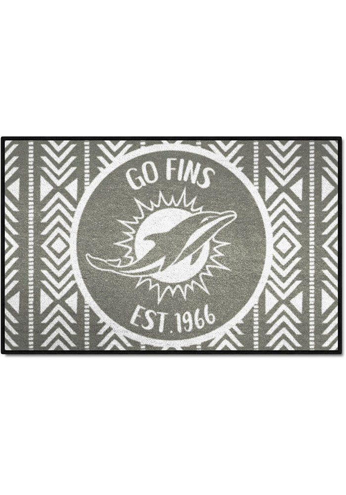 Miami Dolphins Southern Style 19x30 Starter Interior Rug - Image 1