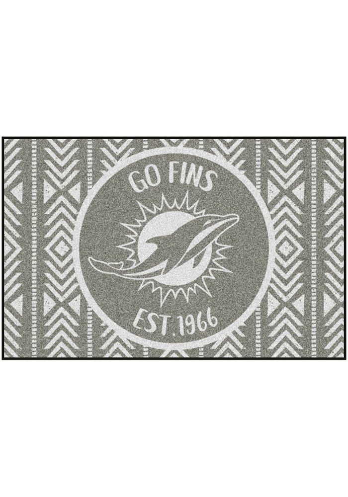 Miami Dolphins Southern Style 19x30 Starter Interior Rug - Image 2