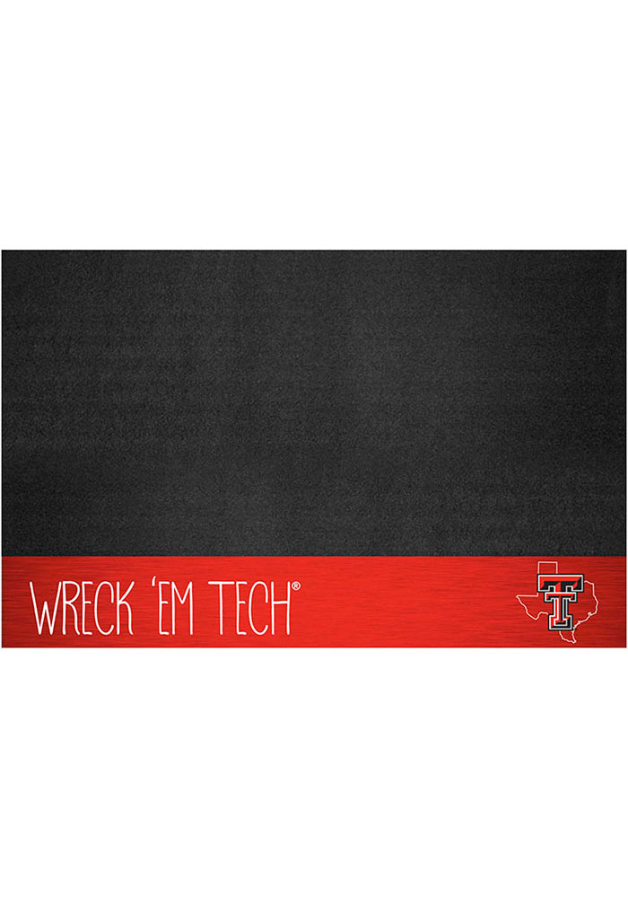 Texas Tech Red Raiders Southern Style 26x42 BBQ Grill Mat - Image 1