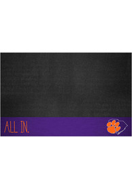Clemson Tigers Southern Style 26x42 BBQ Grill Mat