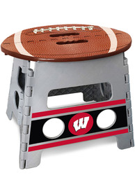 Wisconsin Badgers Folding Step Stool