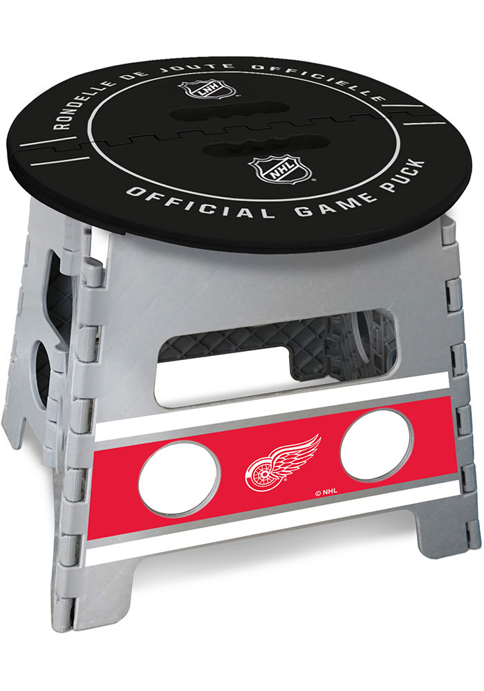 Detroit Red Wings Folding Step Stool - Image 2