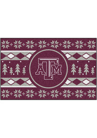 Texas A&M Aggies 19x30 Holiday Sweater Starter Interior Rug