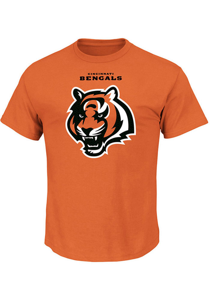 Majestic Cincinnati Bengals Orange Critical Victory Tee