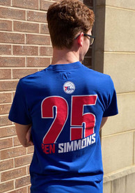 Ben Simmons Philadelphia 76ers Blue State Player Tee