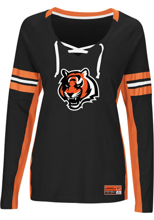 Cincinnati Bengals Womens Black Winning Style T-Shirt