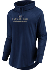 Philadelphia Union Womens Be A Pro Crew Sweatshirt - Navy Blue