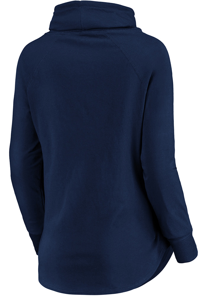 Sporting Kansas City Womens Navy Blue Be A Pro Crew Sweatshirt - Image 2