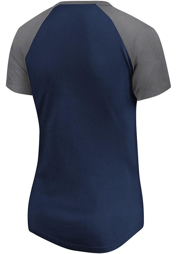 Sporting Kansas City Womens Navy Blue Paid Our Dues Short Sleeve T-Shirt - Image 2