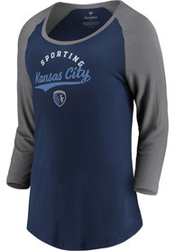 Sporting Kansas City Womens This Desides It T-Shirt - Navy Blue