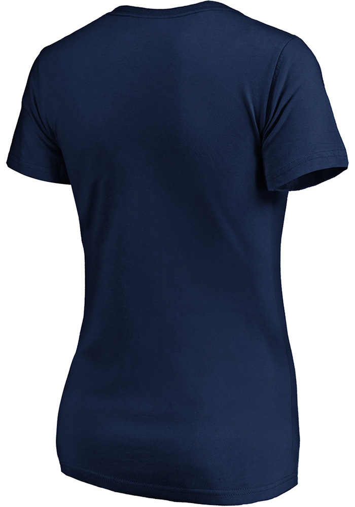 Sporting Kansas City Womens Navy Blue Matchless Vision Short Sleeve T-Shirt - Image 2