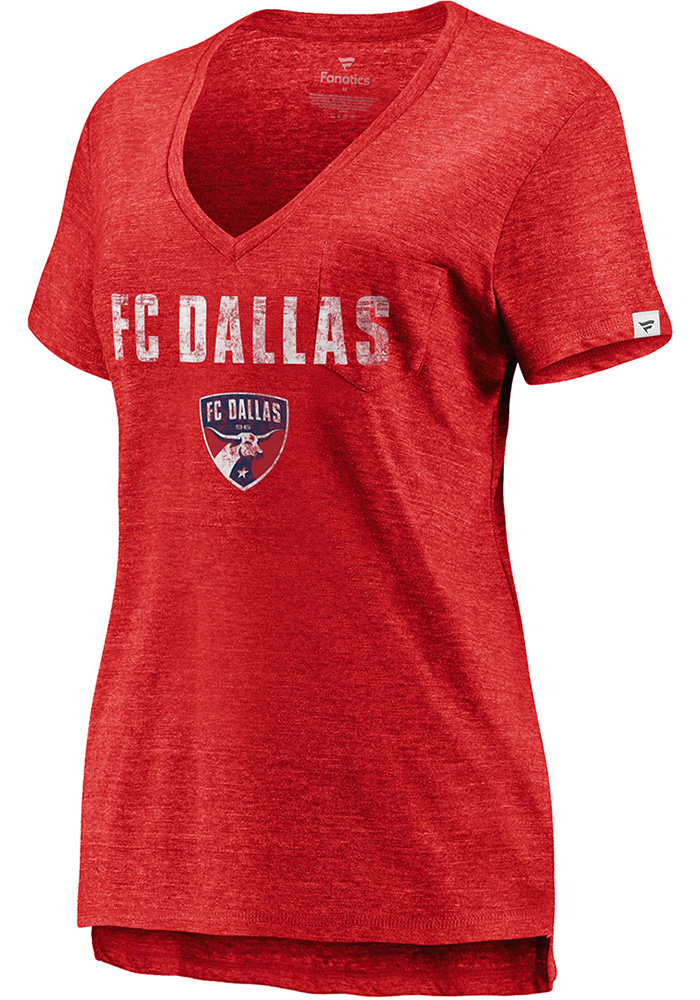 FC Dallas Womens Thats The Stuff T-Shirt - Red