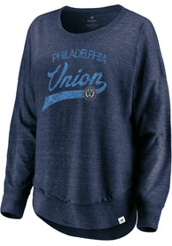 Philadelphia Union Womens Amaze T-Shirt - Navy Blue