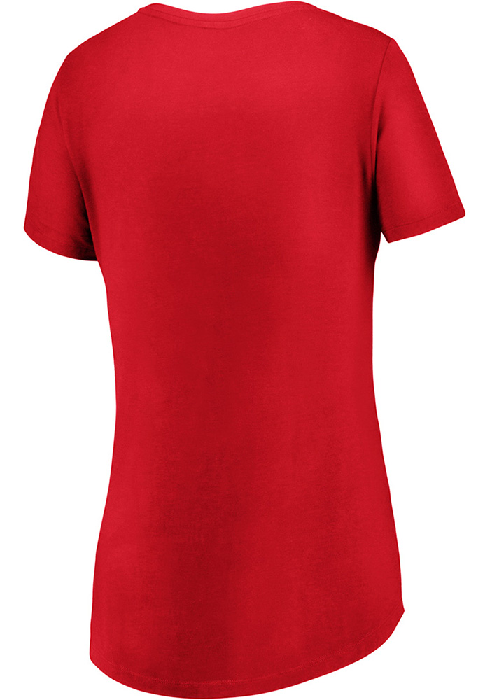 FC Dallas Womens Red Over Everything Short Sleeve T-Shirt - Image 2