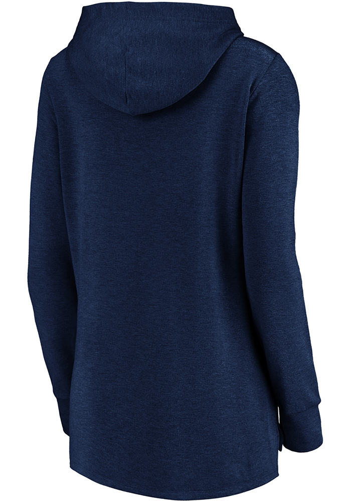 Sporting Kansas City Womens Navy Blue Synthetic Official Logo Hooded Sweatshirt - Image 2