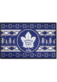 Toronto Maple Leafs 19x30 Holiday Sweater Starter Interior Rug