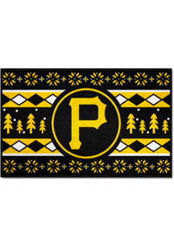 Pittsburgh Pirates 19x30 Holiday Sweater Starter Interior Rug