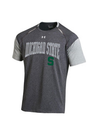 Under Armour Michigan State Spartans Grey Perpetuial Tee