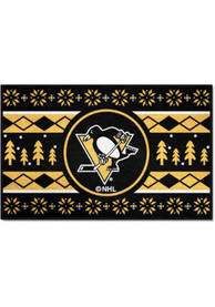Pittsburgh Penguins 19x30 Holiday Sweater Starter Interior Rug