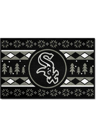 Chicago White Sox 19x30 Holiday Sweater Starter Interior Rug
