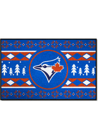 Toronto Blue Jays 19x30 Holiday Sweater Starter Interior Rug
