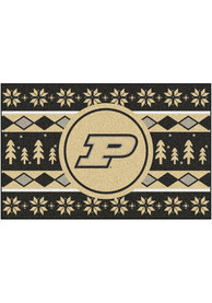 Purdue Boilermakers 19x30 Holiday Sweater Starter Interior Rug