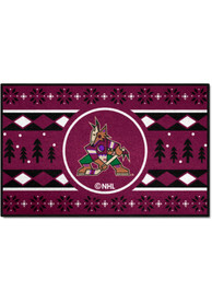 Arizona Coyotes 19x30 Holiday Sweater Starter Interior Rug