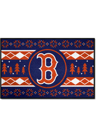 Boston Red Sox 19x30 Holiday Sweater Starter Interior Rug