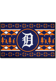Detroit Tigers 19x30 Holiday Sweater Starter Interior Rug