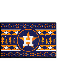 Houston Astros 19x30 Holiday Sweater Starter Interior Rug