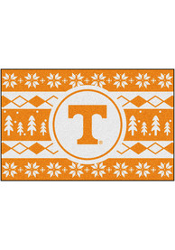 Tennessee Volunteers 19x30 Holiday Sweater Starter Interior Rug