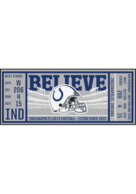 Indianapolis Colts 30x72 Ticket Runner Interior Rug