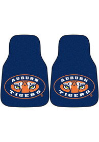 Sports Licensing Solutions Auburn Tigers 2-Piece Carpet Car Mat - Navy Blue
