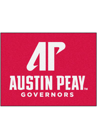 Austin Peay Governors 34x42 Starter Interior Rug