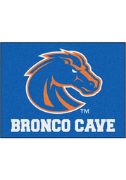 Boise State Broncos 34x42 Man Cave All Star Interior Rug